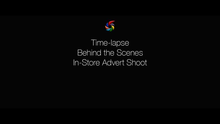 Dreams in store advert shoot